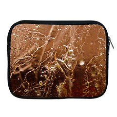 Ice Iced Structure Frozen Frost Apple Ipad 2/3/4 Zipper Cases