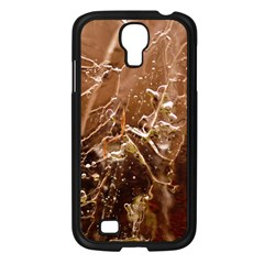 Ice Iced Structure Frozen Frost Samsung Galaxy S4 I9500/ I9505 Case (black)
