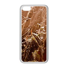 Ice Iced Structure Frozen Frost Apple Iphone 5c Seamless Case (white)
