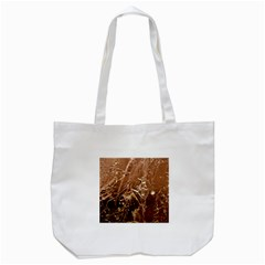 Ice Iced Structure Frozen Frost Tote Bag (white)