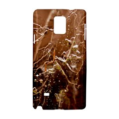 Ice Iced Structure Frozen Frost Samsung Galaxy Note 4 Hardshell Case