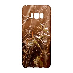 Ice Iced Structure Frozen Frost Samsung Galaxy S8 Hardshell Case