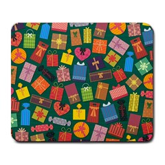 Presents Gifts Background Colorful Large Mousepads