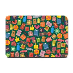 Presents Gifts Background Colorful Small Doormat