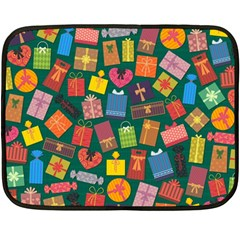 Presents Gifts Background Colorful Fleece Blanket (Mini)