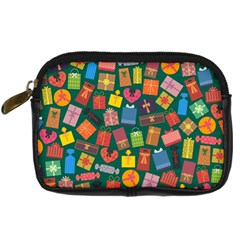 Presents Gifts Background Colorful Digital Camera Cases