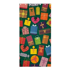 Presents Gifts Background Colorful Shower Curtain 36  X 72  (stall)