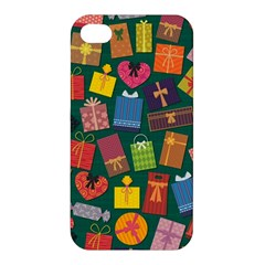 Presents Gifts Background Colorful Apple iPhone 4/4S Premium Hardshell Case