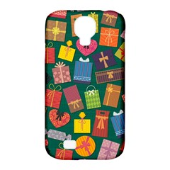 Presents Gifts Background Colorful Samsung Galaxy S4 Classic Hardshell Case (PC+Silicone)