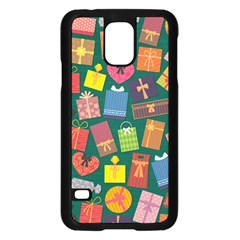 Presents Gifts Background Colorful Samsung Galaxy S5 Case (black)