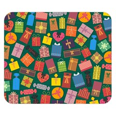 Presents Gifts Background Colorful Double Sided Flano Blanket (Small)