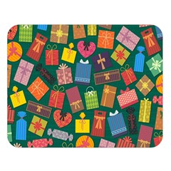 Presents Gifts Background Colorful Double Sided Flano Blanket (Large)