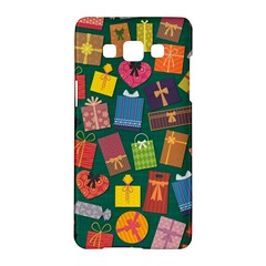 Presents Gifts Background Colorful Samsung Galaxy A5 Hardshell Case