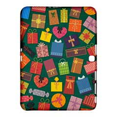 Presents Gifts Background Colorful Samsung Galaxy Tab 4 (10.1 ) Hardshell Case