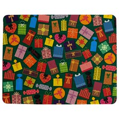 Presents Gifts Background Colorful Jigsaw Puzzle Photo Stand (Rectangular)