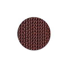 Chain Rusty Links Iron Metal Rust Golf Ball Marker (10 Pack)