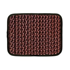 Chain Rusty Links Iron Metal Rust Netbook Case (Small)