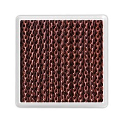 Chain Rusty Links Iron Metal Rust Memory Card Reader (square)