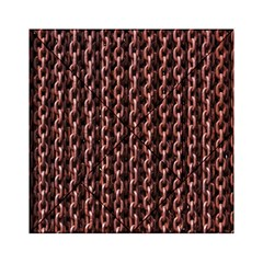 Chain Rusty Links Iron Metal Rust Acrylic Tangram Puzzle (6  X 6 )