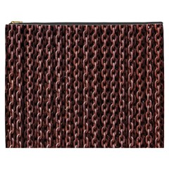 Chain Rusty Links Iron Metal Rust Cosmetic Bag (XXXL)