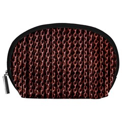 Chain Rusty Links Iron Metal Rust Accessory Pouches (Large)