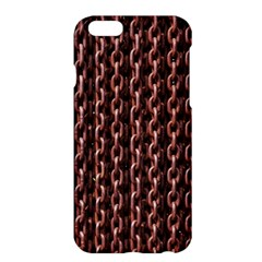 Chain Rusty Links Iron Metal Rust Apple iPhone 6 Plus/6S Plus Hardshell Case