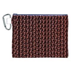 Chain Rusty Links Iron Metal Rust Canvas Cosmetic Bag (xxl)
