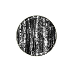 Birch Forest Trees Wood Natural Hat Clip Ball Marker (4 pack)