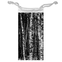 Birch Forest Trees Wood Natural Jewelry Bag