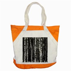 Birch Forest Trees Wood Natural Accent Tote Bag