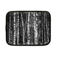 Birch Forest Trees Wood Natural Netbook Case (small)
