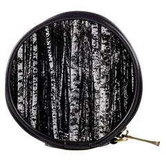 Birch Forest Trees Wood Natural Mini Makeup Bags