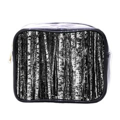 Birch Forest Trees Wood Natural Mini Toiletries Bags