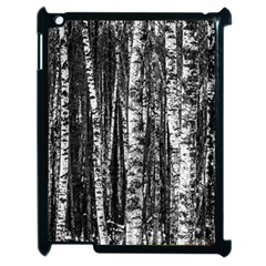 Birch Forest Trees Wood Natural Apple Ipad 2 Case (black)