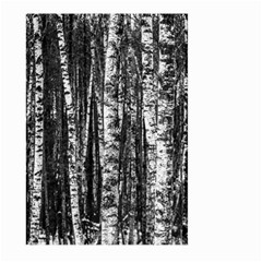 Birch Forest Trees Wood Natural Large Garden Flag (two Sides)