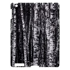 Birch Forest Trees Wood Natural Apple iPad 3/4 Hardshell Case