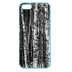 Birch Forest Trees Wood Natural Apple Seamless Iphone 5 Case (color)