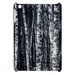 Birch Forest Trees Wood Natural Apple iPad Mini Hardshell Case
