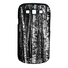 Birch Forest Trees Wood Natural Samsung Galaxy S III Classic Hardshell Case (PC+Silicone)