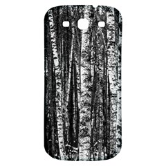 Birch Forest Trees Wood Natural Samsung Galaxy S3 S Iii Classic Hardshell Back Case