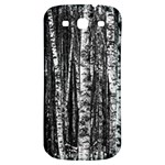 Birch Forest Trees Wood Natural Samsung Galaxy S3 S III Classic Hardshell Back Case Front