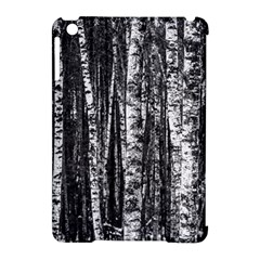 Birch Forest Trees Wood Natural Apple Ipad Mini Hardshell Case (compatible With Smart Cover)
