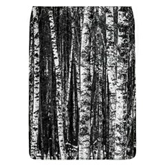 Birch Forest Trees Wood Natural Flap Covers (L)