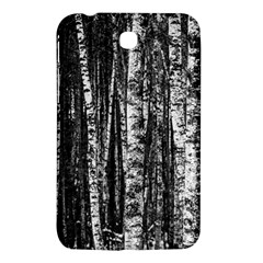 Birch Forest Trees Wood Natural Samsung Galaxy Tab 3 (7 ) P3200 Hardshell Case