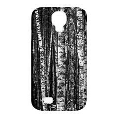 Birch Forest Trees Wood Natural Samsung Galaxy S4 Classic Hardshell Case (PC+Silicone)