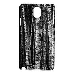 Birch Forest Trees Wood Natural Samsung Galaxy Note 3 N9005 Hardshell Case