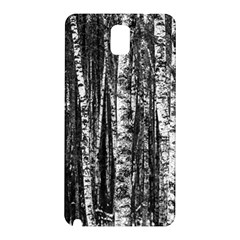 Birch Forest Trees Wood Natural Samsung Galaxy Note 3 N9005 Hardshell Back Case