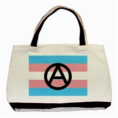Anarchist Pride Basic Tote Bag (Two Sides)
