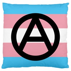 Anarchist Pride Large Cushion Case (Two Sides)