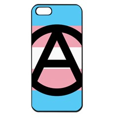 Anarchist Pride Apple iPhone 5 Seamless Case (Black)